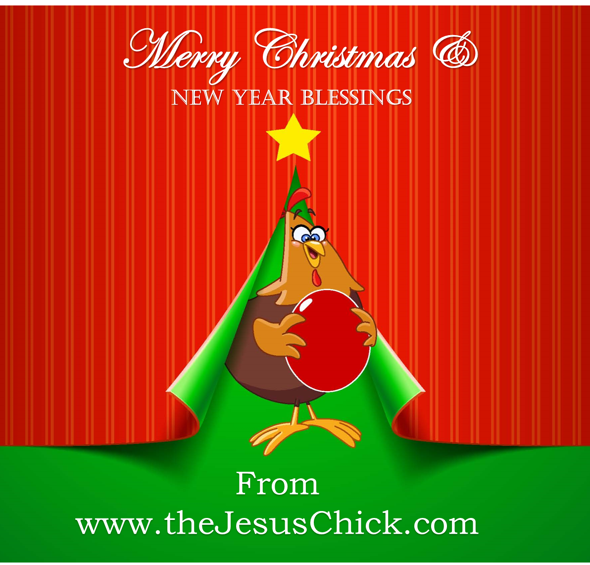 Jesus Chick Christmas