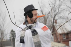 A Frustrated Pastor in the winter