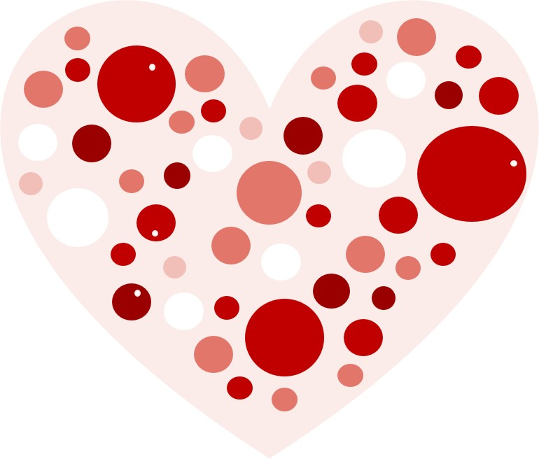 spotted heart