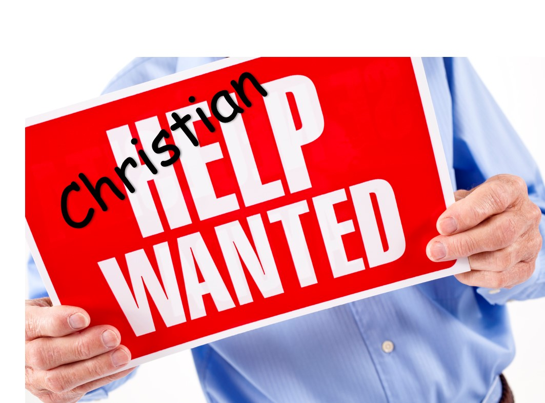 Christian help wanted