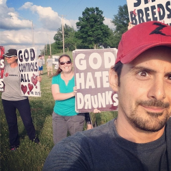 Westboro Baptist, Brad Paisley and the Selfie… this ain't Christianity folks