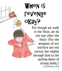 When is revenge okay?